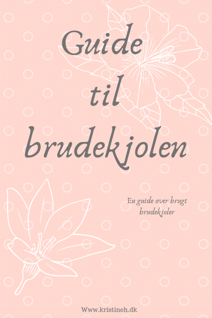 Guiden til at finde the dress for less - brudekjolen
